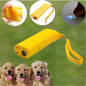 애완견 개 Repeller 방지 짖는 소리 방지 짖는 소리 교육 장치 트레이너 LED가 배터리없이 초음파 짖는 소리 방지 3