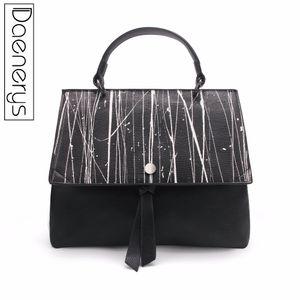 Designer Brand Flap Bow-knot Donne Totes Borsa in pelle Elegante femminile Shouler Borse Ladies Vertical Pattern Classic