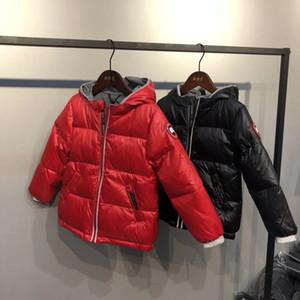 2018 가벼운 아동용 겨울 자켓 Kids Duck Down Coat 여아 Baby girls Boys 파카 Outerwear 후드 티 코트 Coat 110-160