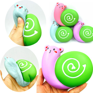 Squishy all'ingrosso rare kawaii squishy jumbo carino animale lumaca lento aumento squishy con pacchetto spremere giocattolo per bambini regali Spedizione Gratuita