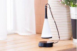 LED Dokunmatik Sensör Masa Lambası Bluetooth Hoparlör Işık Ses Kablosu Ile Ayarlanabilir Ses Masa Lambası USB Şarj Gece Lambası