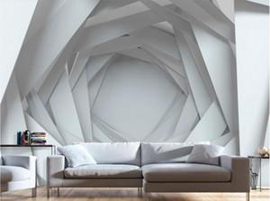 Papeles de pared personalizados decoración para el hogar papel tapiz fotográfico 3d sala de estar murales de pared Fondo de pantalla de TV creativo para paredes 3 d