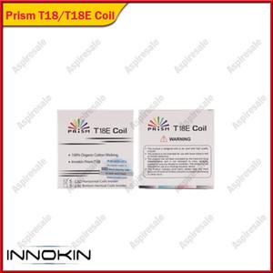 Otantik Innokin Endura prizma T18 T18E Yedek Bobinleri Innokin Endura T18 için 1.5ohm atomizer kafa Kitleri