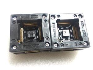 Presa per il test di accensione OTQ-100-0,5-11 qfp100pin Bruciatura di 0,5 mm sul socket
