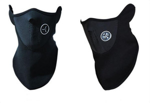 Fahrrad Radfahren Motorrad-halbe Gesichtsmaske Winter-warme Outdoor-Sport Ski Mask Fahrt Bike Cap CS Neopren Snowboard Neck Veil Maske