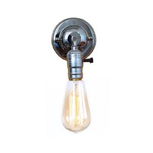 120v 230v navire American Free Europe de lampes mur pays lumières maison Retro Vintage Edison promotion commutateur bouton Argent Chromé