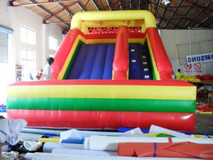 2017 lâminas top venda campo de jogos inflável gigante China jogos infláveis ao ar livre deslizamento de terra inflável para crianças e adultos