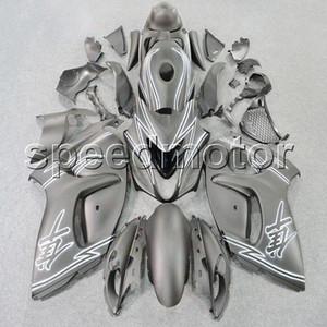Farben + Geschenke Spritzensilyrgrau Motorrad Verkleidung für Suzuki GSXR1300 2008 2009 2010 2011 2012 2013 2014 2015 2016 ABS Kunststoff-Kit