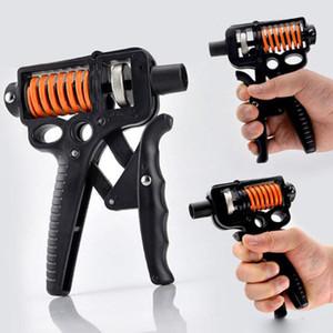 새로운 조정 가능한 손 그립 길어진 손 손가락 재활 훈련 손 강화제 피트니스 장비 손 그립 판매