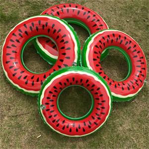 Арбуз и плавательный круг взрослых надувные спасательные кольца утолщение вес подшипника портативные летом воды реалистичные горячей продажи 6kl dd