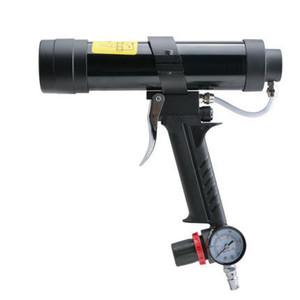 310ML pneumatic air glass glue guns Caulking Gun set