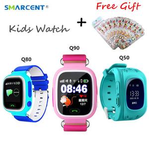 Q90 GPS Wifi Positionnement Smart Watch Pour Enfants Bébé Q50 Écran Tactile SOS Appel Montre Smart Watch Q80 PK Q100 Q750 Q360 df25