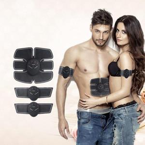 Entrenamiento de los músculos abdominales Dispositivo Estimulador Inalámbrico EMS Cinturón Gimnasio Professinal Cuerpo Adelgazante Masajeador Hogar Fitness Belleza Gear