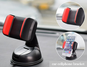 Universal Car Cellphone Holder Bracket Windshield Mobile Phone Mount Smartphone Stand Fori Phone Samsungs5 S6 S7