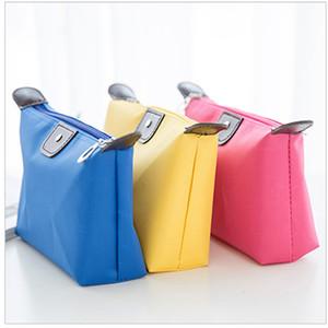sacchetto cosmetico calzolaio fabbrica nuovo colore caramella all'ingrosso sacchetti cosmetici impermeabile ad alta capacità personalizzato personalizzazione PR18001