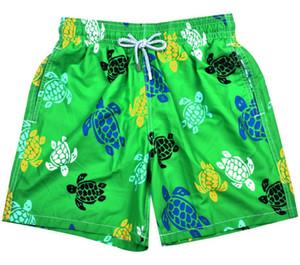 2018 moda mens Bermuda Sörf Plaj Şort yeşil Hızlı Kuru Plaj Kısa Pantolon erkekler için seksi gevşek fit yüzme sandıklar drop shipping yeşil