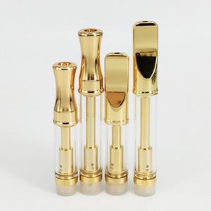 Golden 92A3 Empty Vape Glass Cartridge CE3 Pyrex Glass Dual Coil Thick Oil Atomizer Wax Vaporizer Pen Cartridges 510 Thread Clearomizer