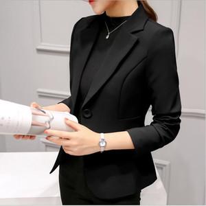 Moda Donna Blazer Feminino Elegante Giacche e cappotti Confortevole Ladies Blazer Lavoro d'ufficio Casual Top Cappotto abrigo mujer