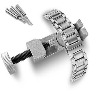Ayarlanabilir Metal Watch Band Kayışı Bağlantı Pimi Remover Onarım Aracı Söküm Kiti Seti