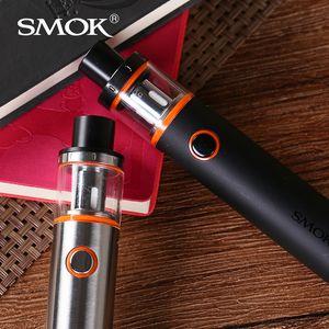 Authentique Smok Vape Pen 22 Kit avec batterie 1650 mAh avec kit de démarrage pour réservoir de remplissage A + Capuchon Capuchon Supérieur avec structure détachable