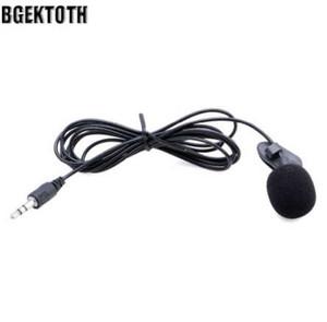 BGEKTOTH Mini Eller Serbest Klip Yaka Mikrofonu Mic PC Dizüstü Dizüstü Skype Için 3.5mm # k # 1
