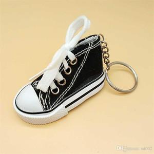 حذاء قماش حذاء العملي مفتاح مشبك مصغرة 3d قلادة كيرينغ ل هدايا الزفاف حزب صغير 2 28yy bb