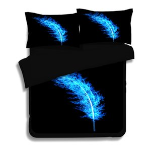 3D Dream Catcher Feather Duvet Cover Set With Pillowcase Bohemian Bedding Set Single Double Queen King 3Pcs No Sheet bedclothes