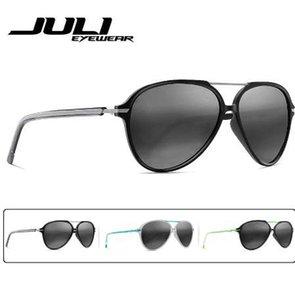 JULI Polarisierte Pilot Mode Sonnenbrille Männer Frauen Tr90 Metall Unzerbrechliche Rahmen für Angeln Baseball Fahren Brillen Oculos Gafas