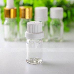 Оптовая цена 960Pcs / серия 5мл Прозрачное стекло бутылки капельницы, 5мл Малый Стеклянные бутылки для эфирных масел Ароматерапия Бесплатная доставка DHL