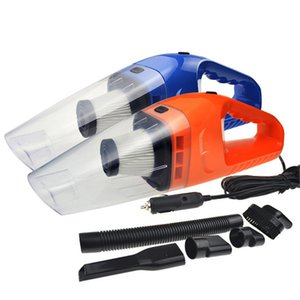 New Hand Mini Home Car Vacuum Cleaner 12V 120W Portable Handheld Wet Dry Dual-use Super Suction Dust Cleaner Catcher Collector