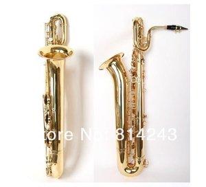 MARGEWATE Saxophone Baryton Marque Qualité Corps en laiton VERNI Saxophone avec Embouchure Case et accessoires Livraison gratuite