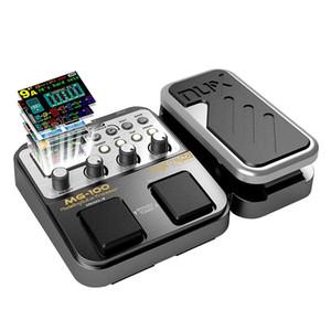 MG-100 Professional Multi-Efeitos Pedal Processor para guitarra baixo violino 40s Record 55 Modo Efeito 10 Som Di Box Guitarra Elétrica Baixo
