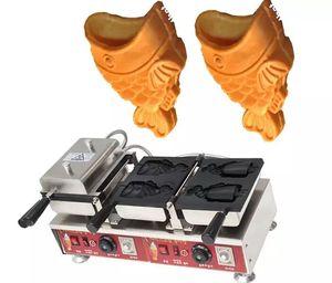 Ücretsiz nakliye maliyeti Elektrikli Kore tarzı fishtail dondurma Taiyaki Makinesi