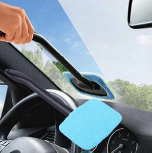 Hot Car Washer Brush Microfiber Window Cleaner Manico lungo Dust Car Care parabrezza Shine Towel Handy lavabile strumento di pulizia auto