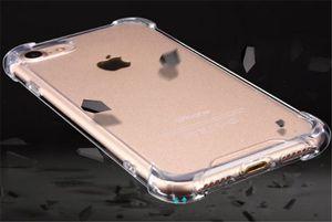 Unbreakable Handy-Fall-Silikon-Schutzhülle Transparent Antiklopf Soft Phone Shell für iPhone 6 6 7 8 plus X