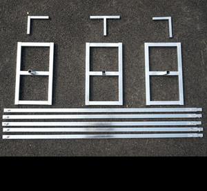3 M * 6 m boda cortinas tubo soporte/decoración de la boda tubería marco para cortina/Stainess acero boda telón de fondo soporte
