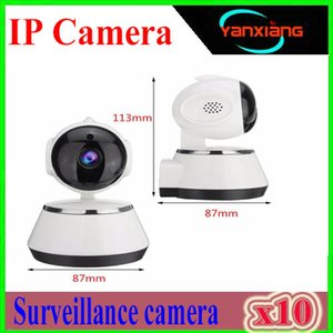 Home Security IP Caméra Sans Fil Smart WiFi Caméra WI-FI Enregistrement Audio Surveillance Baby Monitor HD Mini Caméra CCTV iCSee 10PCS YX-V380