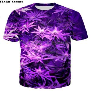 PLstar Cosmos Drop shipping 2018 été Nouveau T-shirt de mode Violet 3d Print Mens Womens décontracté Cool t-shirt YT-47