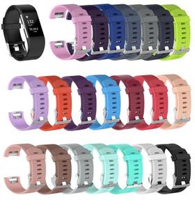Hot Wristband Correia De Pulso Faixa de Relógio Inteligente Banda Pulseira Macia Pulseira de Substituição Smartwatch Para Fitbit Charge 2