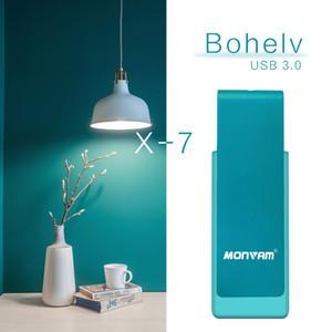 Синий Вращающийся 64 ГБ USB 3.0 Flash Drive Флэш-накопитель Pen Thumb Storage Достаточно емкости Палка для MAC OS Для Monvam X7