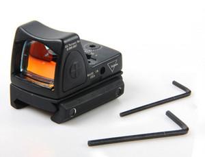 L'obiettivo regolabile di mirino di stile di rosso di Trijicon di promozione RMR con protegge la copertura di gomma per cercare