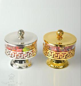 Drinkware de lujo 3 piezas Set de juego de té de cerámica europeo Set de café de porcelana Coffee Pot Cafe Jarra Platillo set CT020