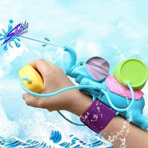 الأطفال طفل الصيف الشاطئ حمام سباحة الحمام الفيل رش مدفع المياه مدفع المياه الرمال حارب اللعب بندقية