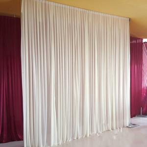 3m * 6m 배경 장식 파티 커튼 축제 축하 웨딩 스테이지 공연 배경 Drape Drape Wall valane backcloth