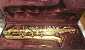 Jupiter JBS-593 GL Saxophone Baryton E Plat En Laiton Or Laque Instrument de Musique Marque Saxophone Avec Toile Cas Embouchure