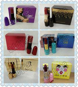 Новые Selena коллекция матовая помада мода макияж водонепроницаемый красивые KL косметика 12 цвет Бесплатная доставка