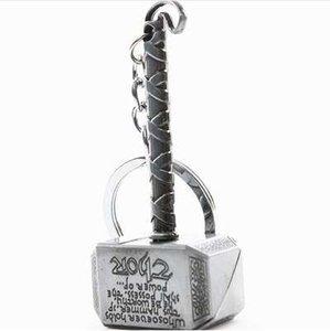 The Avengers Alliance Thor Hammer mjolnir Keychain Infinity War The Dark World الباحث عن الحقائب كيرينغ مجوهرات اكسسوارات