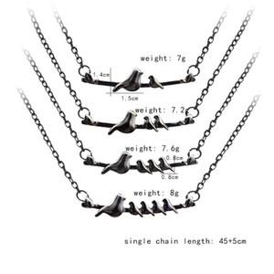 Mutter und Sohn Mama Vogel Halskette Legierung Halsreifen Liebe Modeschmuck Muttertagsgeschenk für Frauen Gilrs