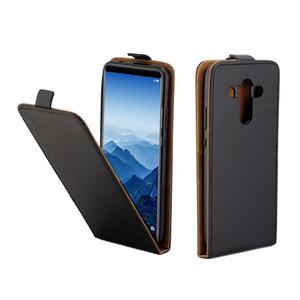 Étui en cuir d'affaires pour Coque Huawei Compagnon 10 Pro Vertical Flip Cover Cover Slot Cas pour Compagnon 10 Pro Mobile Téléphone Sacs