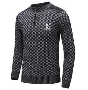 Yeni Moda Kadın Erkek Örgü kazak Ceket erkek Tişörtü Yüksek kalite Lüks tasarım unisex Casual Sıcak kaşmir kazak ceket # 11216